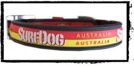 Stay Dry Collar - Red & Yellow