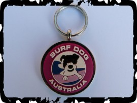 Purple Dog Tags