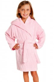 Pink Kids Beach/Bath Robe
