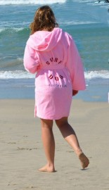 Pink Adult Beach/Bath Robe